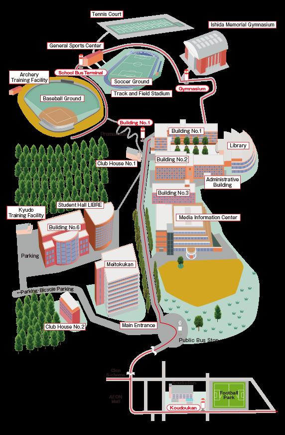 Access|Hiroshima University of Economics